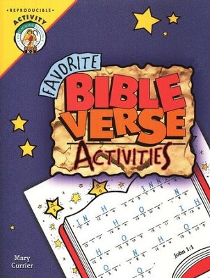 Favorite Bible Verse Activities   -     By: Mary Currier