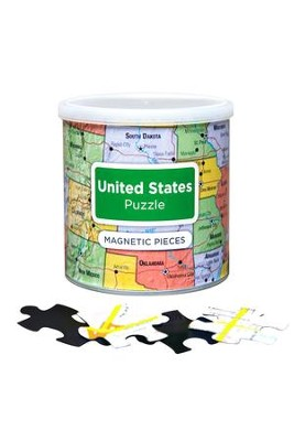 United States Puzzle, 100 Pieces  -