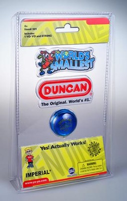 World's Smallest Duncan Yo-Yo  -