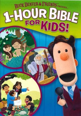 Buck Denver & Friends Present . . . 1-Hour Bible for Kids! DVD  -     By: Phil Vischer