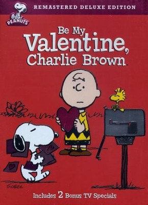 Be My Valentine Charlie Brown, Remastered Deluxe Edition, DVD   -