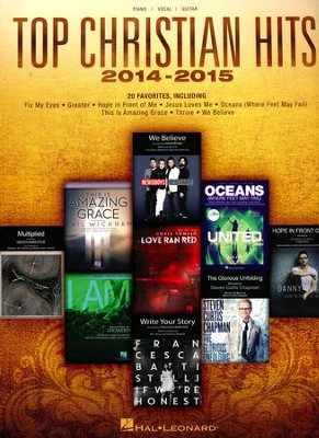 Top Christian Hits 2014-2015 (Piano/Vocal/Guitar)   -