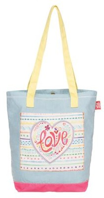 Love--Applique Tote Bag   -