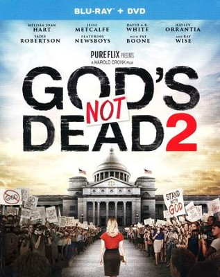 God's Not Dead 2, Blu-ray/DVD Combo   -