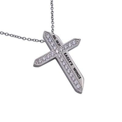 Armor of God, Katana Cross Necklace   -