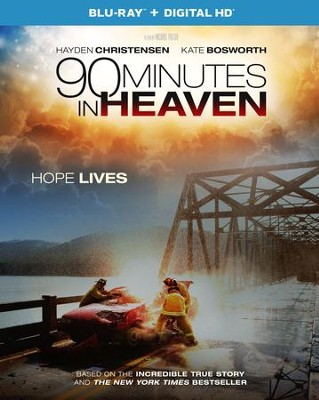 90 Minutes In Heaven Blu-Ray Combo Pack   -
