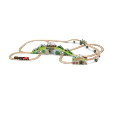 Mountain Tunnel Train Set  -