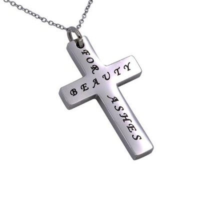 Ashes Simplicity Cross Necklace   -