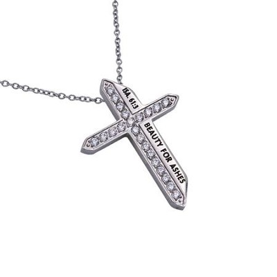 Beauty for Ashes, Katana Cross Necklace   -