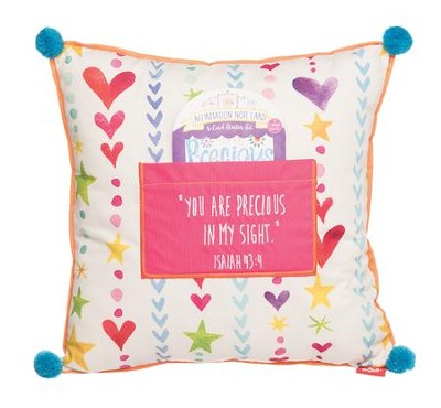 You Are Precious In His Sight Pillow  -