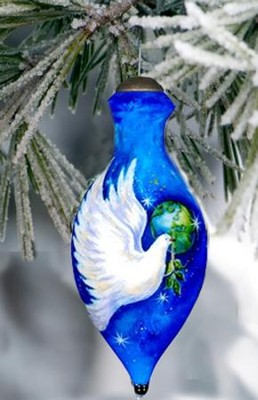 Peace Dove Neqwa Ornament  -     By: Sarah Summers
