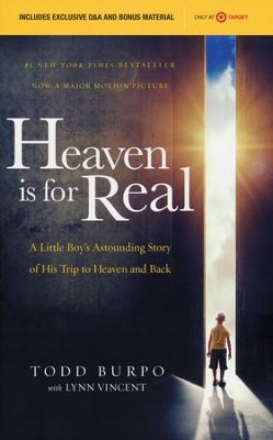 Heaven Is for Real, Custom Movie Edition Book   -     By: Todd Burpo