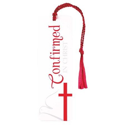 Confirmed In Christ Bookmark  -