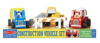 Construction Vehicle Set  -