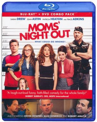 Mom's Night Out, Blu-ray/DVD Combo   -