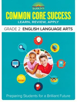 Barron's Common Core Success: English Language Arts, Grade 2  -