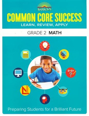 Barron's Common Core Success: Math, Grade 2   -