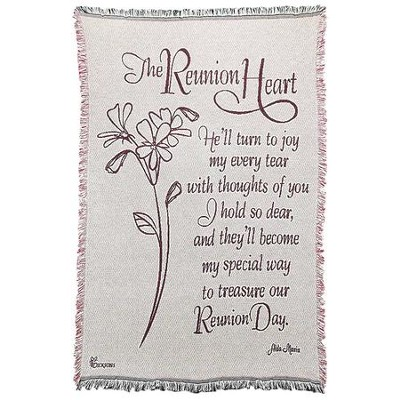The Reunion Heart Throw  -