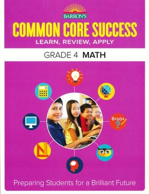 Barron's Common Core Success: Math, Grade 4   -