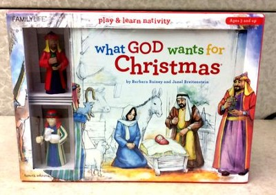 What God Wants for Christmas: Barbara Rainey & Janel Breitenstein ...