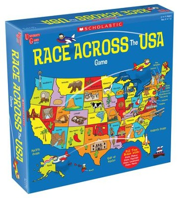Race Across the USA Game  -