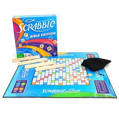 Scrabble Bible Edition Game   -