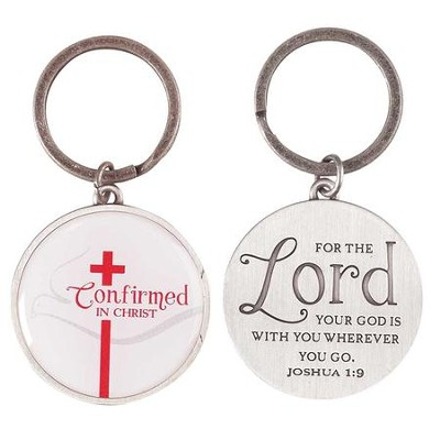 Confirmed In Christ Keyring  -
