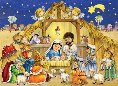 The Creche Advent Calendar  -