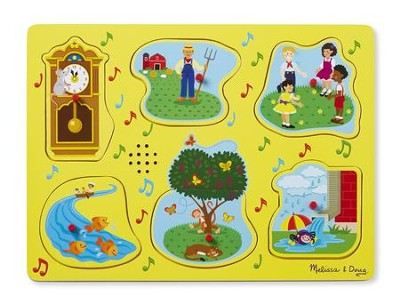 Nursery Rhymes 1, Sound Puzzle  -