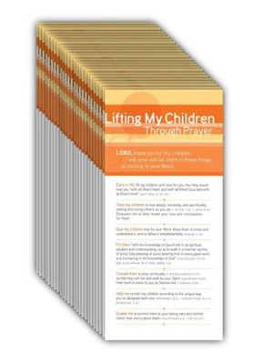 Lifting My Children Through Prayer, 25 Pack   -     By: Familylife