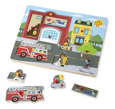 Around the Fire Station, Sound Puzzle  -