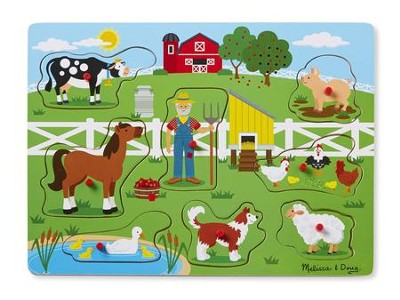 Old MacDonald's Farm, Light Activated Sound Puzzle  -