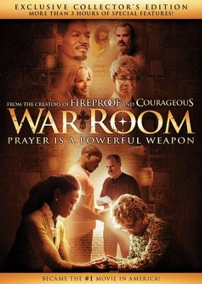 War Room, Exclusive Collector\'s Edition DVD - Christianbook.com