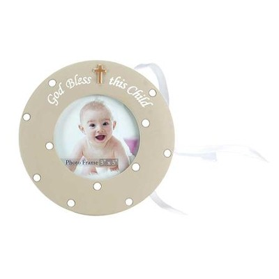 God Bless This Child Photo Frame, Ornament  -