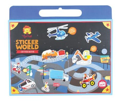 Sticker World, On the Move  -