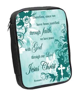 Romans 5:1 Bible Cover  -