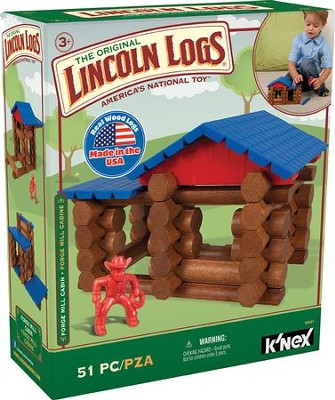 Lincoln Logs Forge Mill Cabin  -