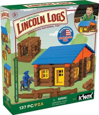 Lincoln Logs Oak Creek Lodge  -