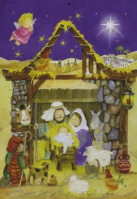 Savior's Stable, Nativity Advent Calendar  -