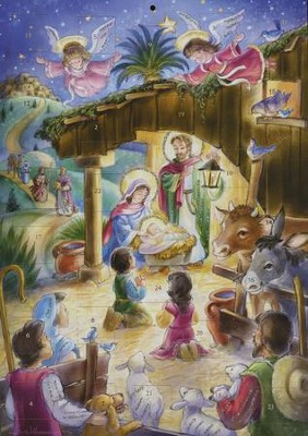 Oh, Noche Divina, Calendario de Adviento (Oh, Holy Night,  Advent Calendar)  -