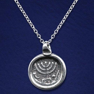 Menorah Necklace   -