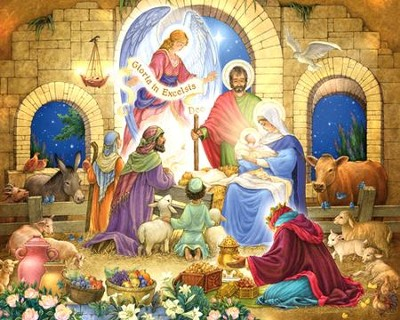 Glorious Nativity 1000 Piece Jigsaw Puzzle   -