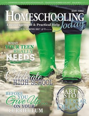 Homeschooling Today Magazine, 1 Year International Subscription   -