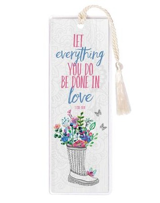 Let Everything You Do Be Done in Love, 1 Corinthians 16:14, Bookmark  -