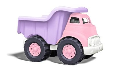 Dump Truck, Pink and Purple  -