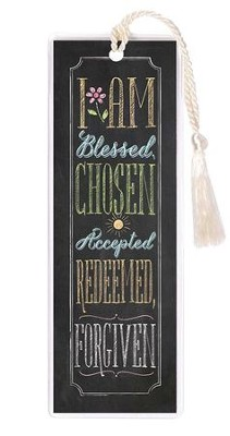 I Am Blessed, Chosen, Accepted Bookmark  -