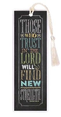 Those Who Trust In the Lord Bookmark  -