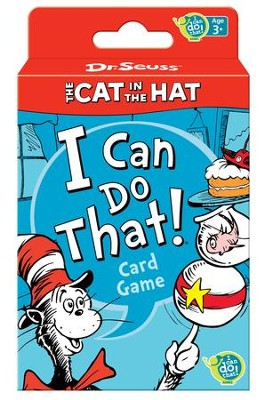 Dr. Seuss, The Cat in the Hat I Can Do That! Card Game  -