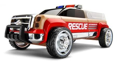 T900 Beech Wood Rescue KitTruck with Red Fenders  -