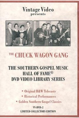 Hall of Fame, Volume 2 DVD   -     By: The Chuck Wagon Gang